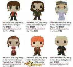 Revelados novos bonecos de Harry Potter da Funko! - O Profeta Diário