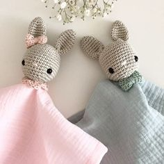 Schnuffeltücher #handmade_byregina #schnuffeltuch #schmusetuch #hase #häkeln #häkelnundnähen #crochet #handmade