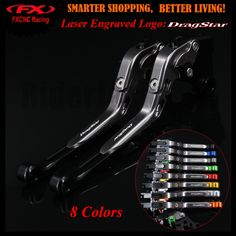 Black+Titanium For Yamaha XVS 1100 XVS1100 DRAGSTAR 1999-2004 2000 2001 2002 2003 CNC Motorcycle Adjustable Brake Clutch Levers. Yesterday's price: US $33.29 (27.31 EUR). Today's price: US $28.63 (23.58 EUR). Discount: 14%.