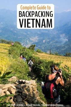 If you're thinking about backpacking Vietnam, we say go for it! It's one of our favourite countries in the world and is perfect for budget travel. In this post we answer all your Vietnam questions based on our many trips to the country! #travel #vietnam #backpacking #budget #asia #transform #myfiveacres Vietnam Travel Guide, Asia Travel, Travel Guides, Travel Tips, Budget Travel, Cheap Travel, Stuff To Do, Things To Do, California Travel