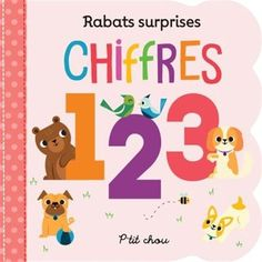 Chiffres par CLARK, ANNA*WING, SCARLETT Simple Sentences, Fine Motor Skills, How To Introduce Yourself, Baby Love, Whimsical, Wings, Language, Author, Board Book