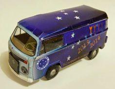 PAPERMAU: VW Type II Cruzeiro Football Club Paper Model - by Ronaldo M