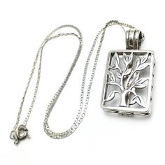 Sterling Silver LIVE LAUGH LOVE Pendant Necklace by WatchandWares