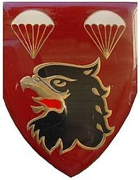 2 Parachute Battalion is Citizen Force paratroop unit of the South African Army. It was established in July 1971 with the formation of the Parachute Battalion. Later it was a battalion within 44 Parachute Brigade.2 Parachute Battalion companies were also deployed internally in South African black townships to suppress unrest to the governments Apartheid policies