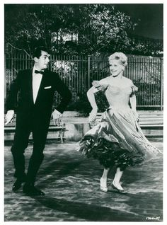 Vintage photo of Dean Martin and Judy Holliday in the movie quot It 39 s Calli Hollywood Men, Vintage Hollywood, Dean Martin Movies, Judy Holliday, Who Is Your Father, Judy Garland, Film Books, Press Photo, Couples