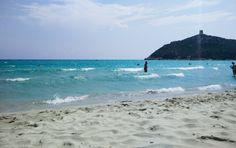 Strand Porto Giunco Sardinien
