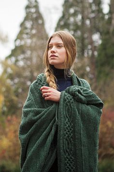 Stornoway Throw - Knitting Patterns and Crochet Patterns from KnitPicks.com by Edited by Knit Picks Staff
