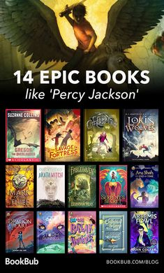 14 Books 'Percy Jackson' Fans Will Love 14 epic books like Percy Jackson! Related posts:Percy Jackson, Son of Neptuneyou just hit the jackpot: PhotoCamp Jupiter Best Books To Read, I Love Books, Great Books, My Books, Library Books, Book Suggestions, Book Recommendations, Books Like Percy Jackson, Books For Teens