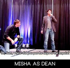 Can we just appreciate that Jensen basically is collapsed on the floor because he's laughing. #iheartthem