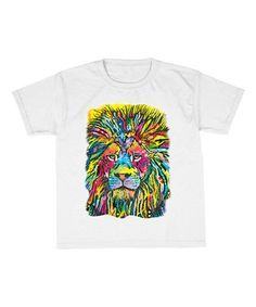 Look what I found on #zulily! White Lion Tee - Kids #zulilyfinds
