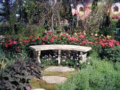 A Garden for the Senses - J. Cugliotta Landscaping - 2002 Philadelphia Flower Show Photo Gallery