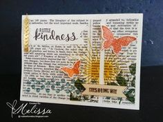 love the stamping on the background paper and the colors