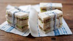 BBC - Food - Recipes : Smoked mackerel pate and cucumber sandwich