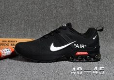 46feee2db845e3 Nike Air VaporMax 2018. 5 Flyknit Men s Running Shoes Black White Nike  Shoes Mens
