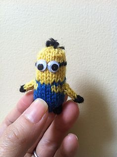 mini minion knitting pattern