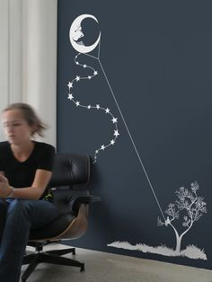 @Cara Thompson - this is a cute idea maybe with a different moon...and a toddler instead of an older child