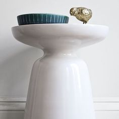 Martini Side Table - White #westelm