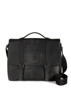Kenneth Cole Reaction Risky Business - Colombian Leather Messenger ... fd75f3d72ab9a