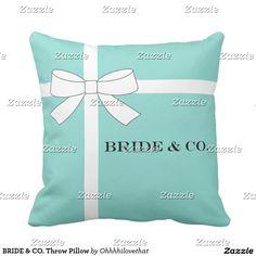 BRIDE & CO. Throw Pillow