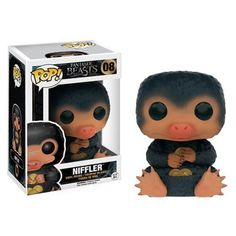 Explore the secret wizarding world of New York, seventy years before Harry Potter started at Hogwarts. From Fantastic Beasts and Where to Find Them, Niffler has undergone the Pop! Vinyl stylization. T