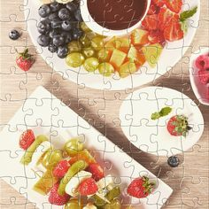 Watch the new #puzzle for today: Fruits and chocolate sauce. Get it for #free on #Appstore & #GooglePlay and #enjoy one of most #relaxing #puzzle game for #iphone,#ipad and #Android. #gamedev #jigsaw #rompecabezas #developer #jigsawpuzzle #jigsaw #puzzle #puzzles #jigsaws