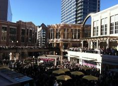 City Creek Center Opening, Salt Lake City, Utah--This is for all you shoppers out there!