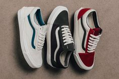 Vans Vault 'Suede/Canvas' Old Skool Collection - EU Kicks: Sneaker Magazine