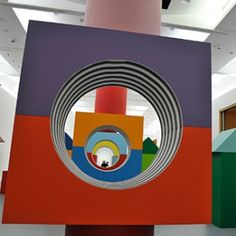 Daniel Buren, une installation « in situ » sur 600 m2 - MAMCS © Photos R.A.N.