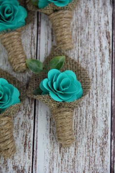Hey, I found this really awesome Etsy listing at https://www.etsy.com/listing/190153058/turquoise-boutonniere