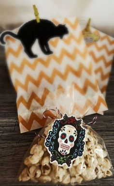 Day of the Dead Halloween party treats! See more party planning ideas at CatchMyParty.com!