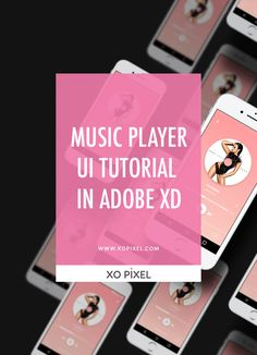 Hey, Pixels! In this week's tutorial, you'll be designing a clean and modern music player UI in Adobe XD. If you're not familiar with Adobe XD, be sure to read and/or watch my Adobe XD: Intro & Basics tutorial, where I'll show you the ins and outs of Adobe XD.