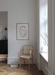 One Soul Print by Loulou Avenue - Boliginteriør - Einrichtung Minimalist Interior, Minimalist Home, Modern Interior Design, Design Interiors, Hallway Decorating, Interior Decorating, Interior Ideas, Interior Inspiration, Design Ppt