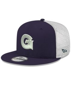 new concept 5ac96 5a9f5 New Era Georgetown Hoyas Tc Meshback Snapback Cap - Navy White Adjustable