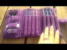 Crochet hook case - YouTube