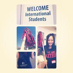 "@hisaka0610's photo: Sometimes you should look like a super ""San Diego State girl :P  @SDSU International Student Orientation  #sdsu #internationalstudent #orientation #welcometoourschool"