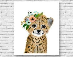 Erizo de acuarela bosque vivero gatito de pinturas por zuhalkanar