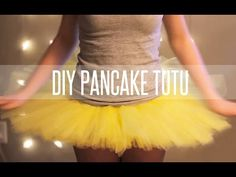 HOW TO MAKE A TUTU STIFF (PANCAKE TUTU) - YouTube