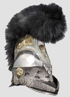 Baviera Coraceros 1832 Oficial
