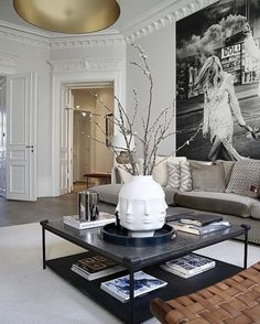Elegant Contemporary Living Room Design Ideas So as to generate an appearance of modernization, the designs should incorporate the perfect living room accessories that will accentuate the appearance of the room. Decor, Room Design, Interior, Dream Decor, Home Decor, House Interior, Contemporary Living Room Design, Living Decor, Living Room Designs