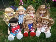 my child doll - foto di gruppo
