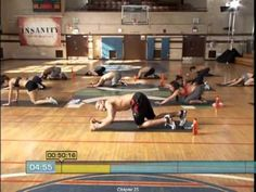 Insanity Workout : 06  Cardio Abs