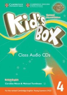 Kid's Box, Level 4: British English - Class Audio Cds