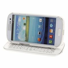 Sliding Bluetooth Keyboard with Detachable Case for Samsung Galaxy S3 I9300 If you have any questions, please feel free to write us.. Delivery Time20-30 Days. 40 days unconditional return policy.  #YaoGe #Wireless