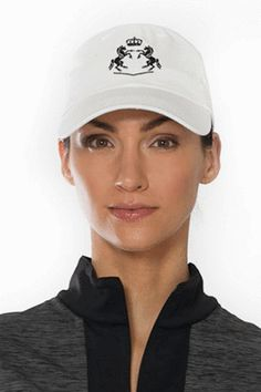 Keep the sun out of your eyes in style. Equestrian Style, Equestrian Fashion, Gifts For Horse Lovers, Baseball Cap, Looks Great, Fashion Accessories, Hats, Cotton, Collection