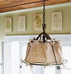 VINTAGE & CHIC: decoración vintage para tu casa · vintage home decor: ¿Saco sí o saco no? [] Sackcloth: yes or not?