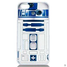 CAPA PARA IPHONE STAR WARS Fãs de Star Wars costumam vestir a camisa e ficarão felizes quando vestirem seus iPhones de R2-D2, afinal, se ainda não temos tecnologia para um simpático robô branco, nosso consolo é o smartphone.