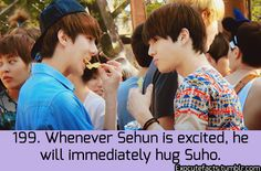 Exo Facts. Aww Leader and Maknae