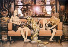 Digik Gallery - Artbook - Tatsuyuki Tanaka - Cannabis Works - Image ID 24680