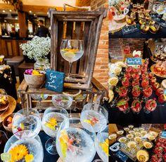 Mythe Barn Wedding – Natalie and Sam Waves Photography, Wedding Venue Inspiration, Barn Wedding Venue, Gin And Tonic, Reception Ideas, Daffodils, Birmingham, Perfect Wedding, Table Settings