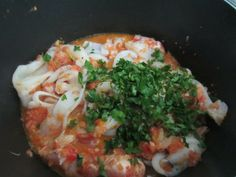 ITALIAN FISH SOUP WITH TOMATO, OLIVES, CAPERS AND FRESH VEGETABLES : SIMPLE TASTYHEALTHY  www.easyitaliancuisine.com